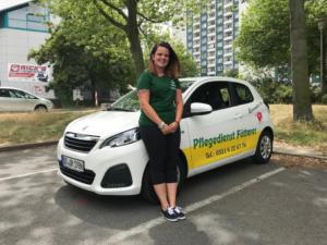Altenpflegerin Claudia - Wundmanagement